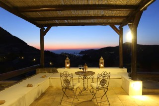 Villa Diamond Terrace Night View