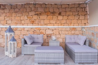 Premium Pool Villa patmos chairs