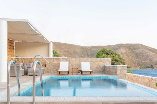 Premium Pool Villa patmos swimming pool