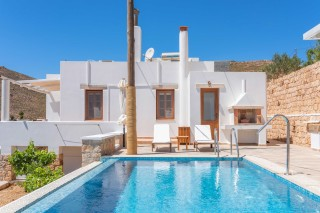 Premium Pool Villa patmos swimming pool area