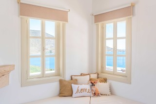 Premium Pool Villa patmos window